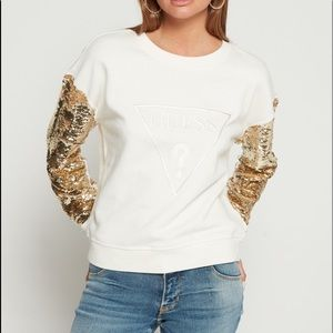 Guess sequin sweather